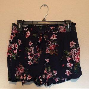Pants - 2/$10 Paper bag tied waist Hawaiian shorts
